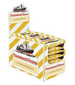 [Amazon] 30% auf Fisherman's Friend Tropical 24 Beutel Ananas Melone Guave 14,34€