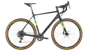 Serious Grafix Elite Gravelbike in Black-Rainbow (2018)