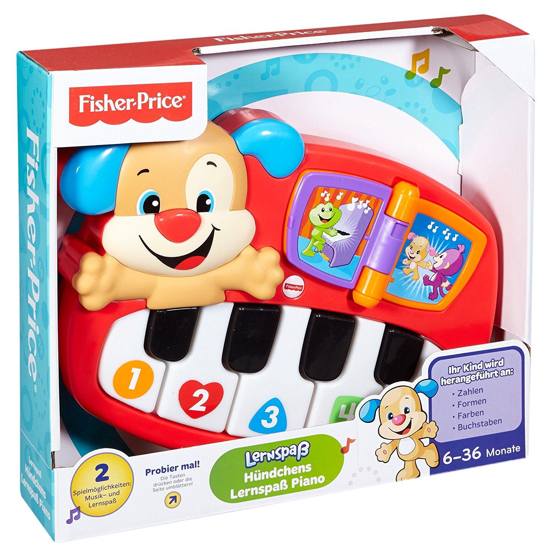 Mattel™ - Fisher-Price Lernspaß Piano (DLD21) für €12,77 [@Real.de]
