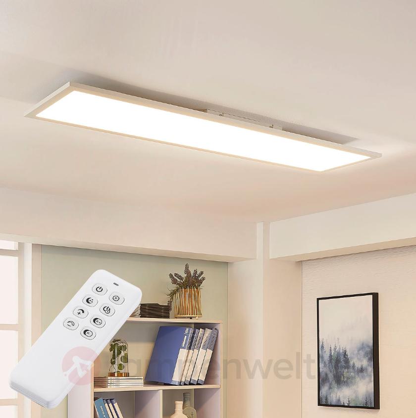 """Weiße, dimmbare LED-Deckenleuchte """"Lysander"""""""