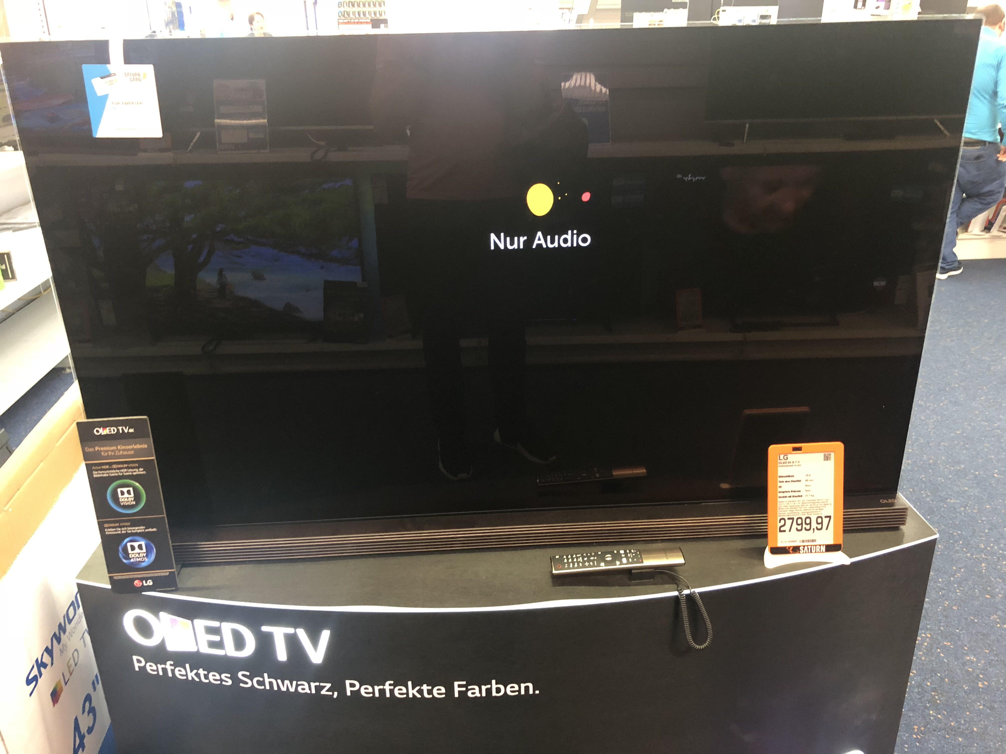 [Saturn Lokal Nürnberg] LG65G7V 4K OLED TV