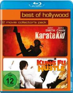 Kung Fu Hustle + Karate Kid (2x Blu-ray) für 6,94€ (Dodax)