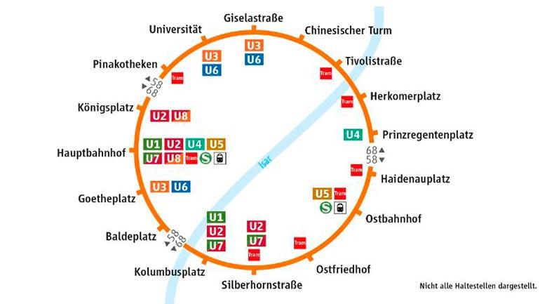 Lokal München: Neuer Ringbus des MVV, am 3. Juni kostenlose Fahrt, auch mit Oldtimerbussen, gratis Eis, auch gut für Sightseeing