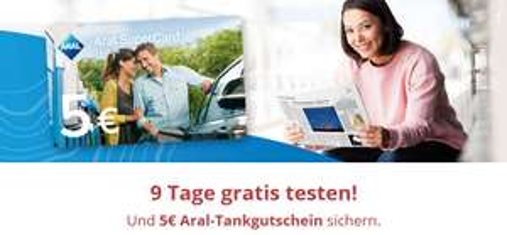 [LOKAL] Wiesbadener Kurier 9 Tage Gratis lesen (Print&epaper) plus 5€ Aral Tankgutschein