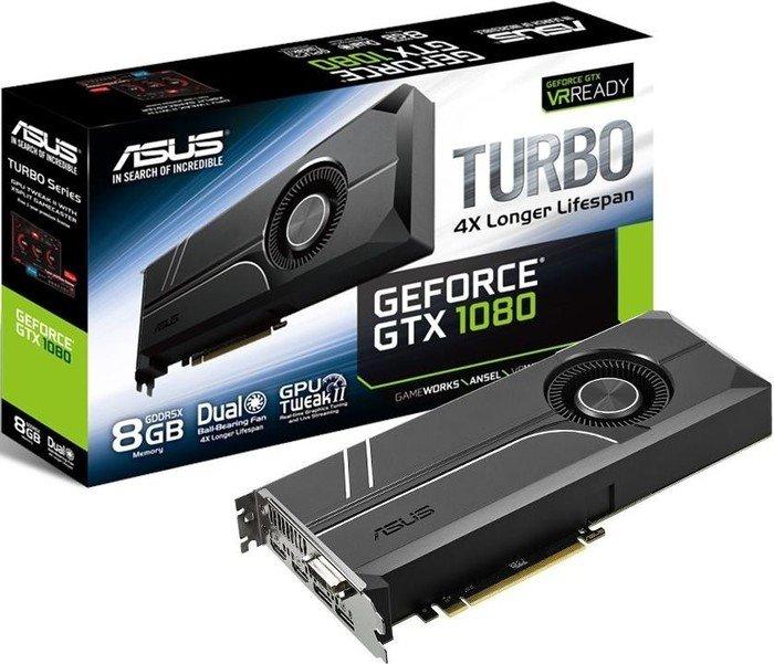 [amazon.co.uk] Grafikkarte ASUS Turbo GeForce GTX 1080 8GB (90YV09S0-M0NA00)