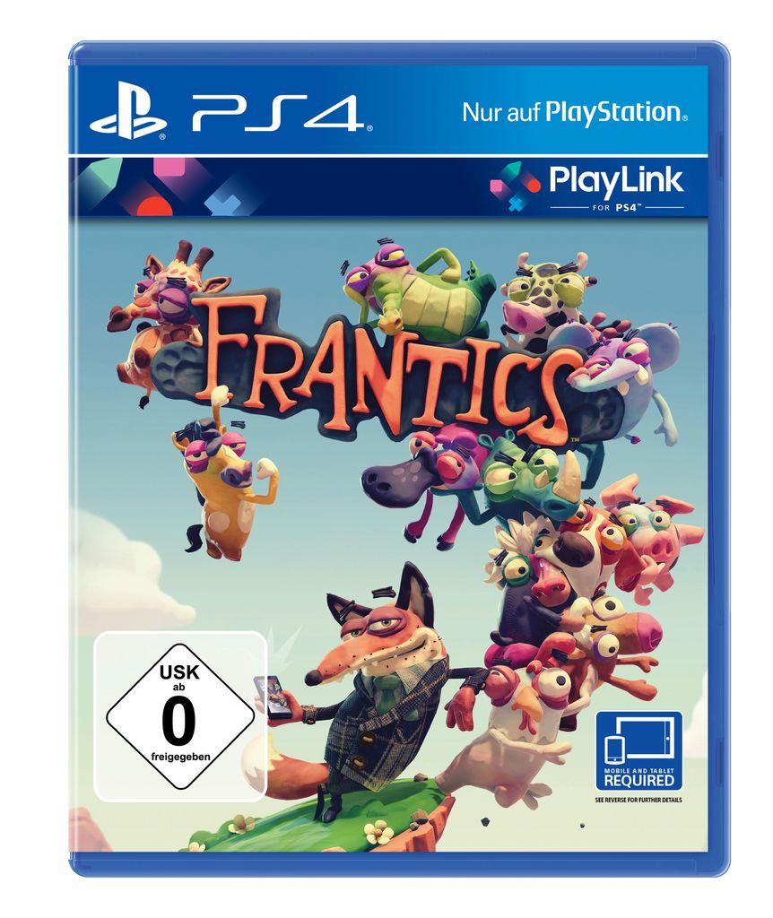 [PS4 Playlink] Frantics für 12,95€ bei 4u2play
