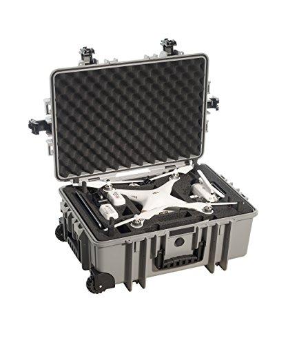 B&W outdoor.cases Typ 6700 mit DJI Phantom 3 Inlay
