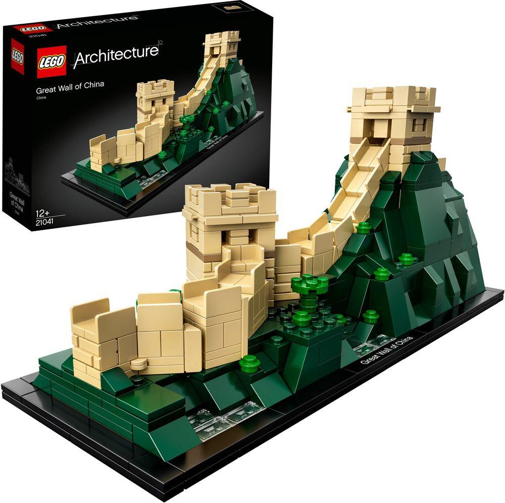 [Windeln.de] Lego Architecture 21041 Chinesische Mauer für 31,59 + 21042 Freiheitsstatue für 68,19