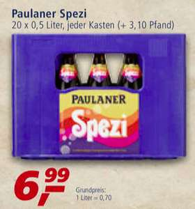 [Bayern] Paulaner Spezi Kasten @ Real