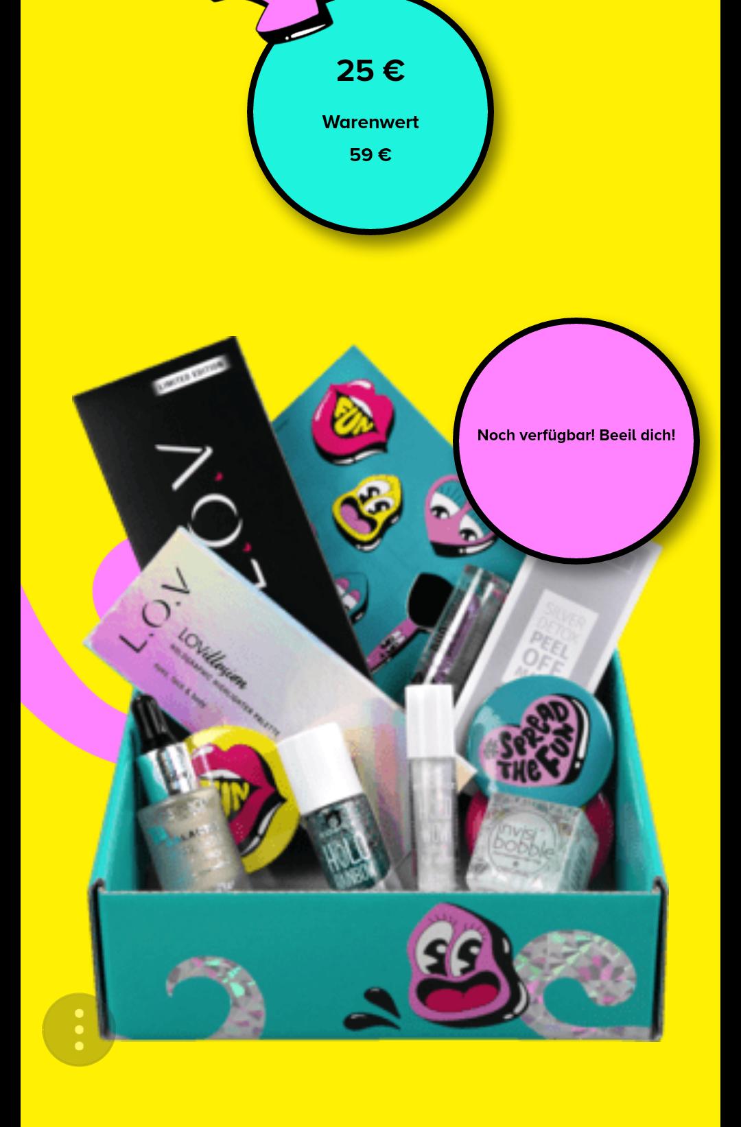 DM Beauty HoloBox für 25 Euro nur online