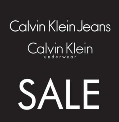 Calvin Klein Sale 30%