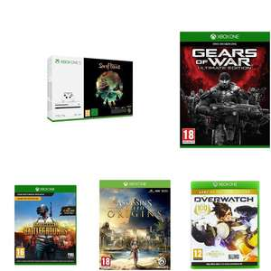 Xbox One S 1TB SoT + PUBG + Overwatch + Gears of War + Assassin's Creed Origins + FIFA 18