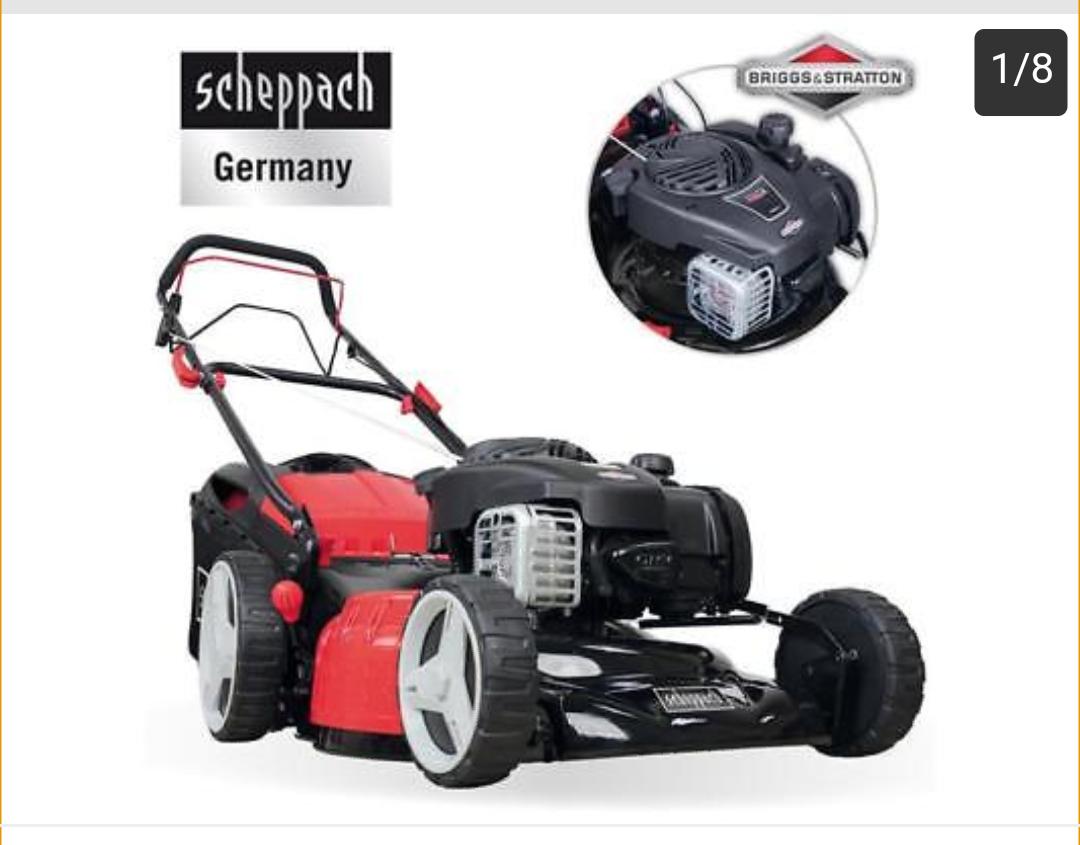 Benzin Rasenmäher Scheppach MS450-46
