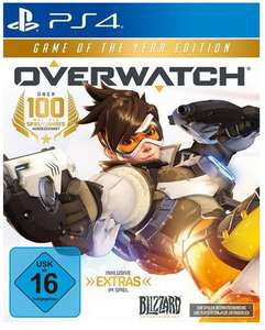 Overwatch - Game of the Year Edition (PC/PS4/Xbox One) für 15,99€ (Müller + Amazon)