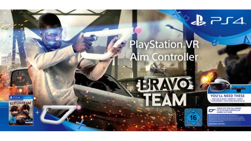 Bravo Team + Aim Controller (PlayStation VR) für 63,99€ (Müller)