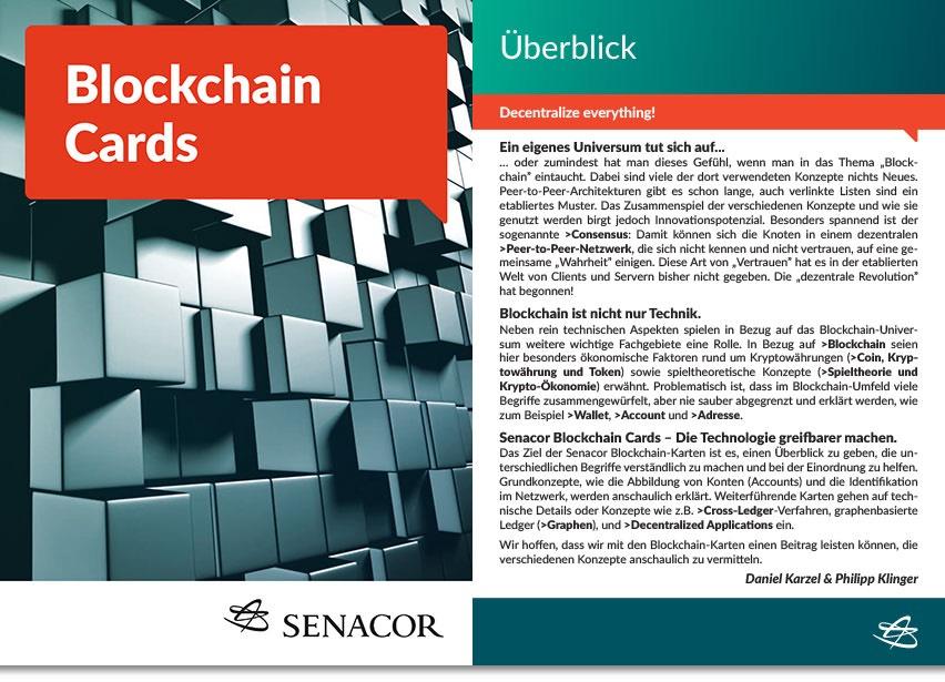 Blockchain-Infokarten | GRATIS