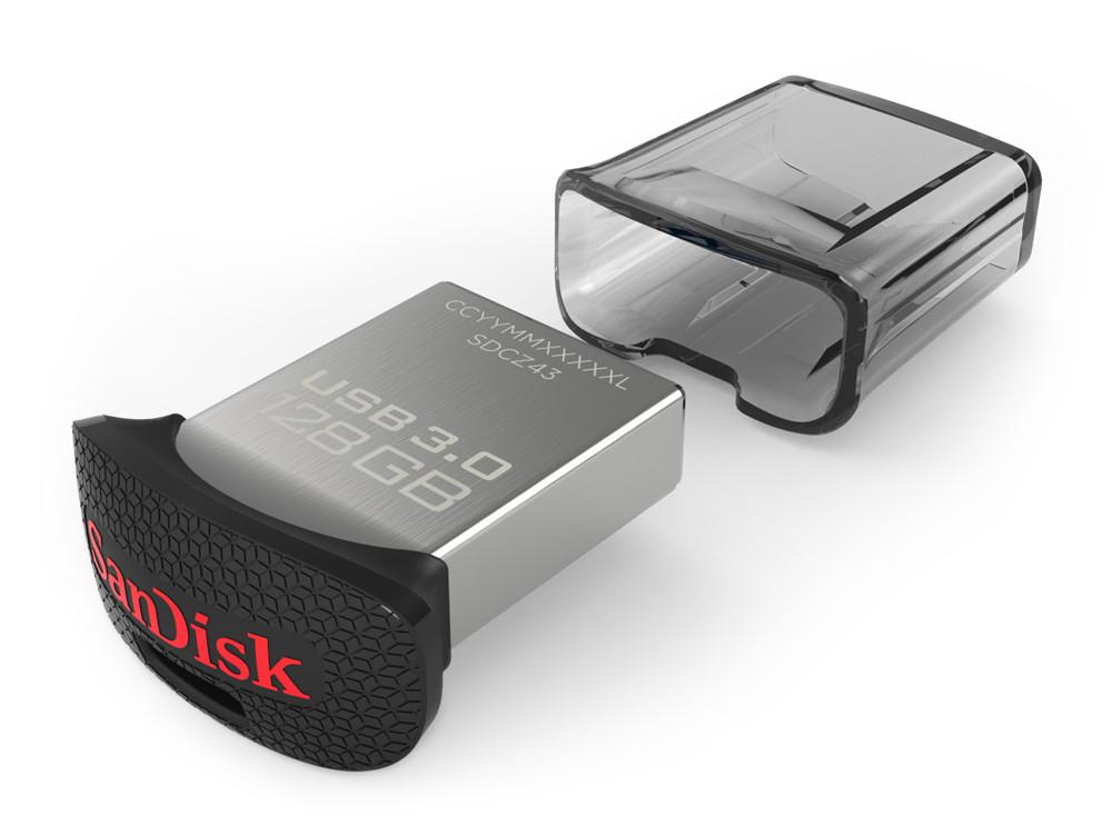 SanDisk Ultra Fit 128GB USB 3.0 Stick für 8,99€ (Gravis Filialen)