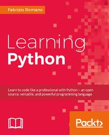 Learning Python: Learn to code like a professional with Python (e-Book)