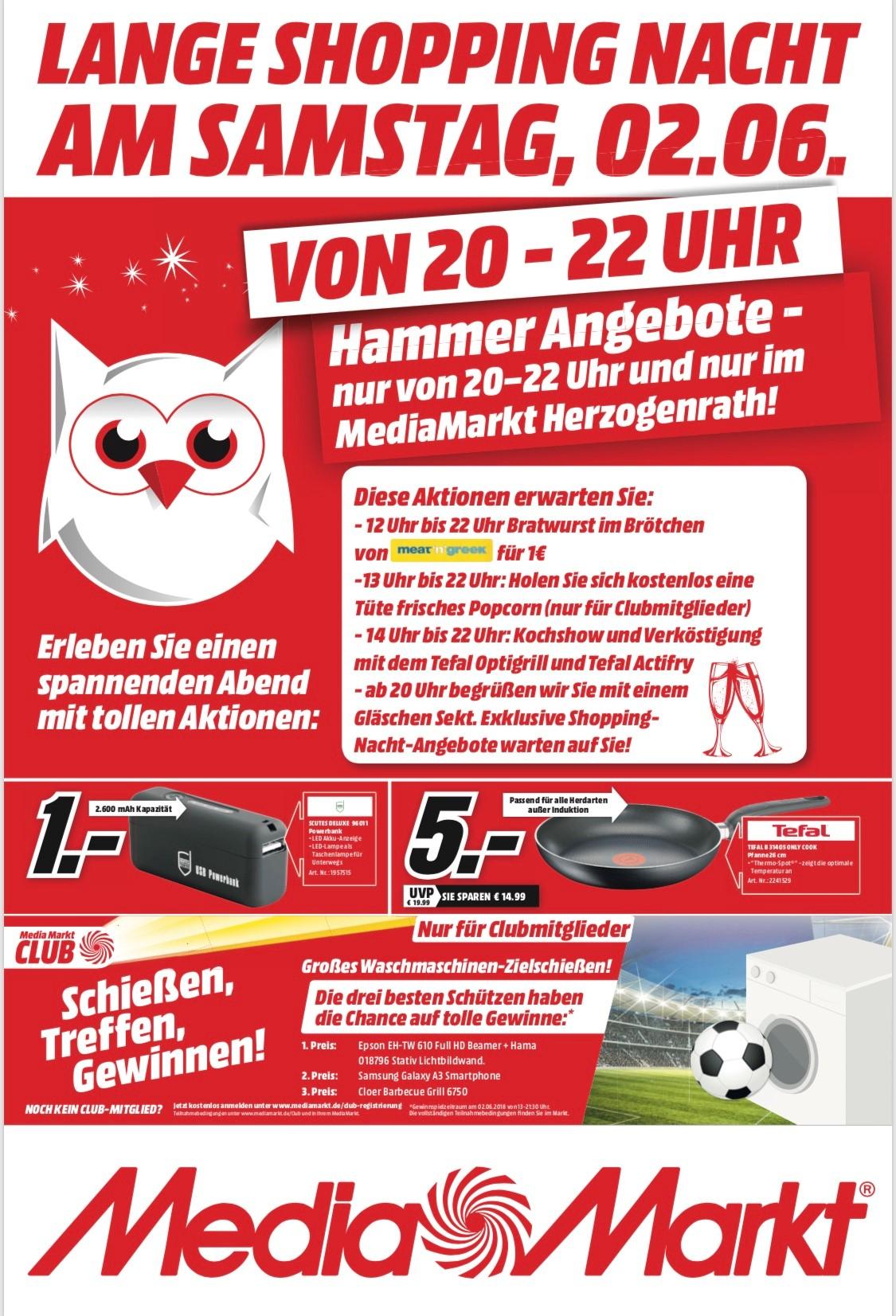 (LOKAL Media Markt Herzogenrath) Scutes Deluxe USB Powerbank 96011 mit LED Lampe 2600mAh