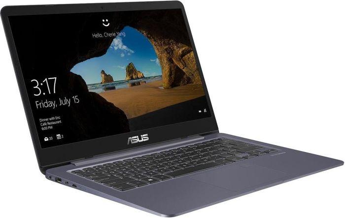 """ASUS VivoBook S14 - Core i5-8250U, 8GB RAM, 256GB SSD, 14"""" Full-HD IPS, 1,2kg, ~ 8h Akku, Win 10, bel. Tastatur"""