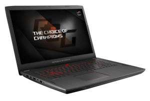 "ASUS Gaming Laptop mit AMD Ryzen 7 1700 8x3.7GHz 17.3"" 8GB AMD RX580 1TB SSHD Windows 10"