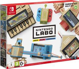 Nintendo Labo: Multi-Set (Switch) für 51,99€ (Müller & Amazon)