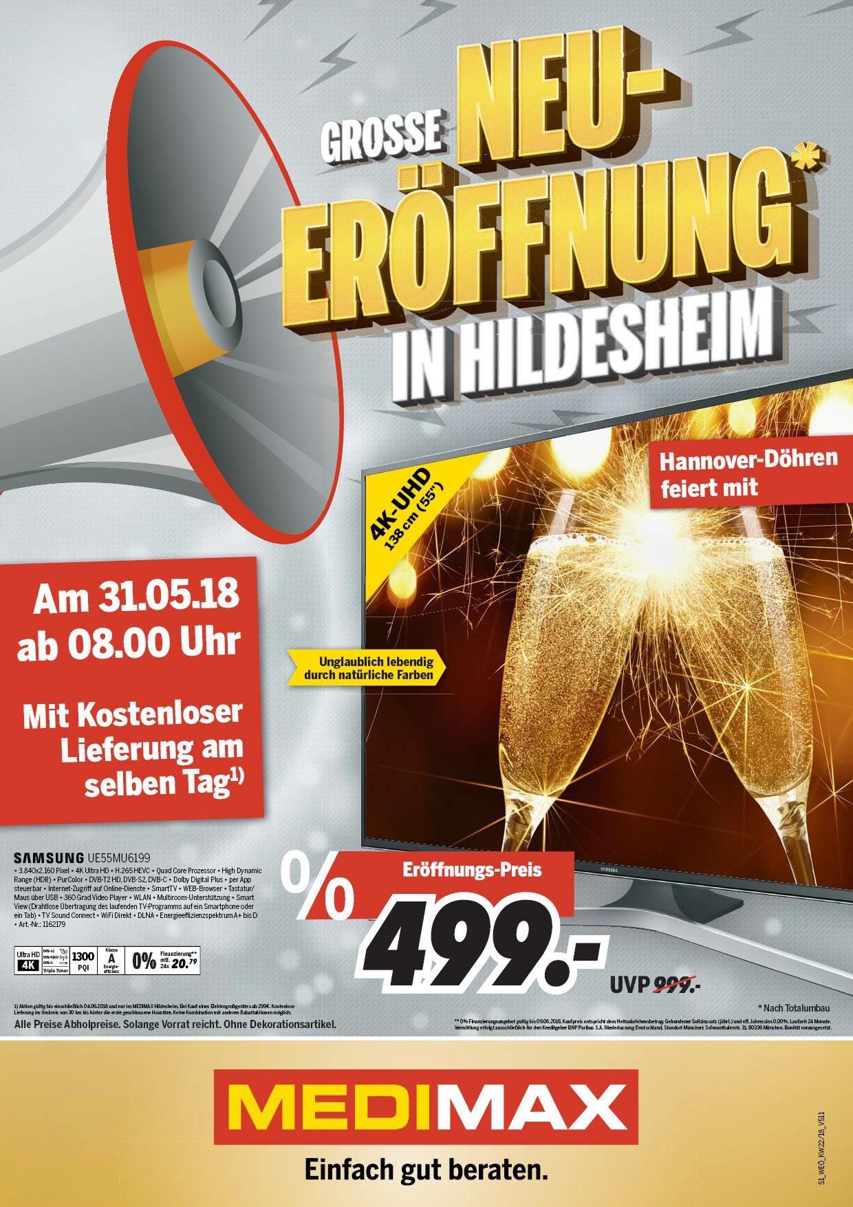 [lokal] Neueröffnung Medimax Hildesheim
