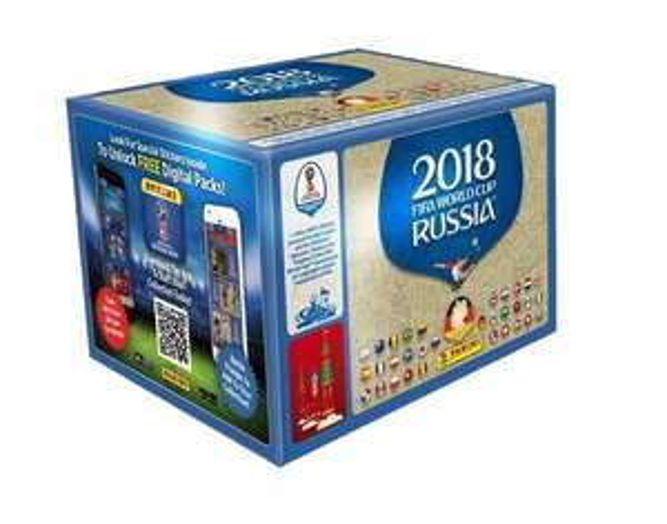 Panini Fifa Russia 2018 World Cup Sticker Box mit 100 Tüten (Thalia+Gutschein+Payback)