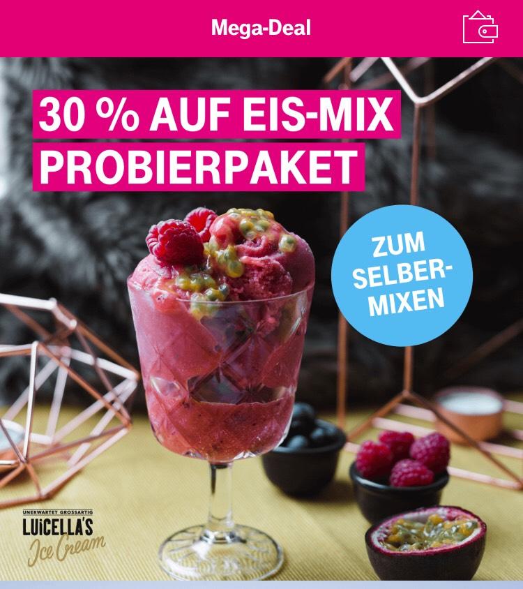 Telekom Mega-Deal 30% auf Luicella's Eis-Mix
