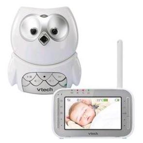 vTech Babymonitor Eule - Babyphone mit Videoüberwachung