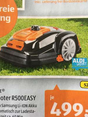 Aldi Süd YARD FORCE® Mähroboter R500EASY1