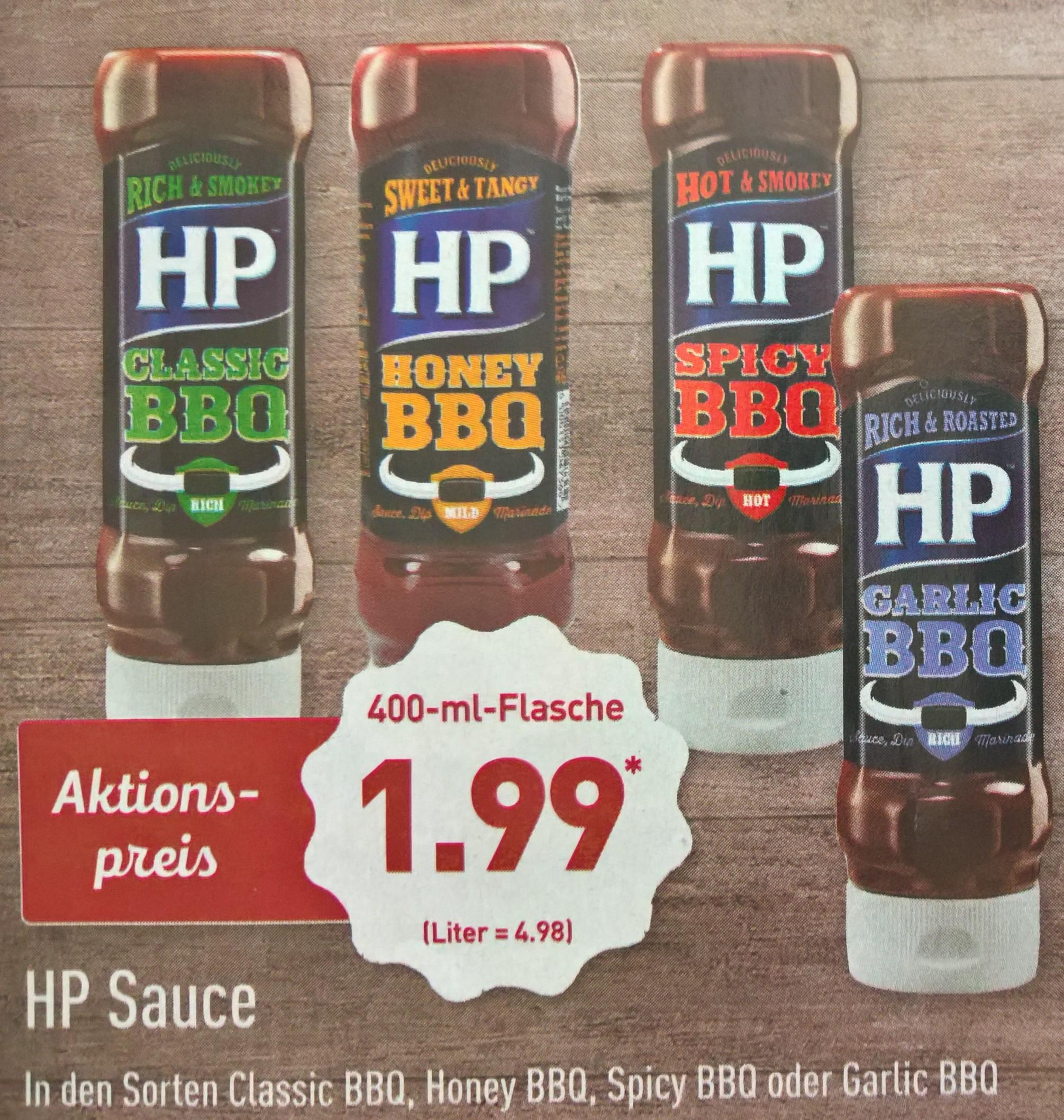 HP BBQ Sauce für die Grillfreunde