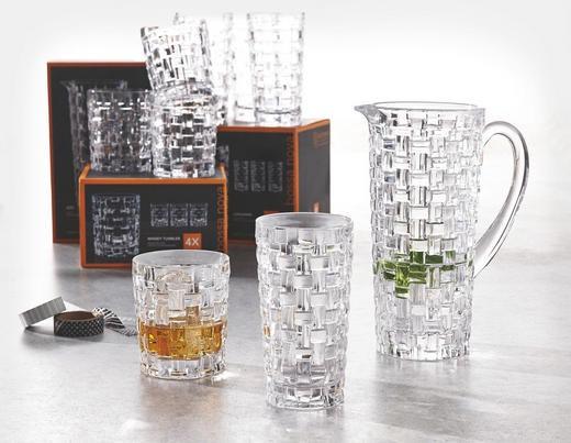 "[XXXLutz] Nachtmann ""Bossa Nova"" 4-Teiliges Set Longdrink- oder Whiskygläser, Krug ODER Nachtmann ""Noblesse"" Longdrink oder Whisky[ Versand von 3,95 incl.]"
