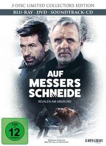 Auf Messers Schneide - Rivalen am Abgrund Limited Collector's Edition (Blu-Ray + DVD + Soundtrack-CD) für 11,98€ (Media-Dealer)