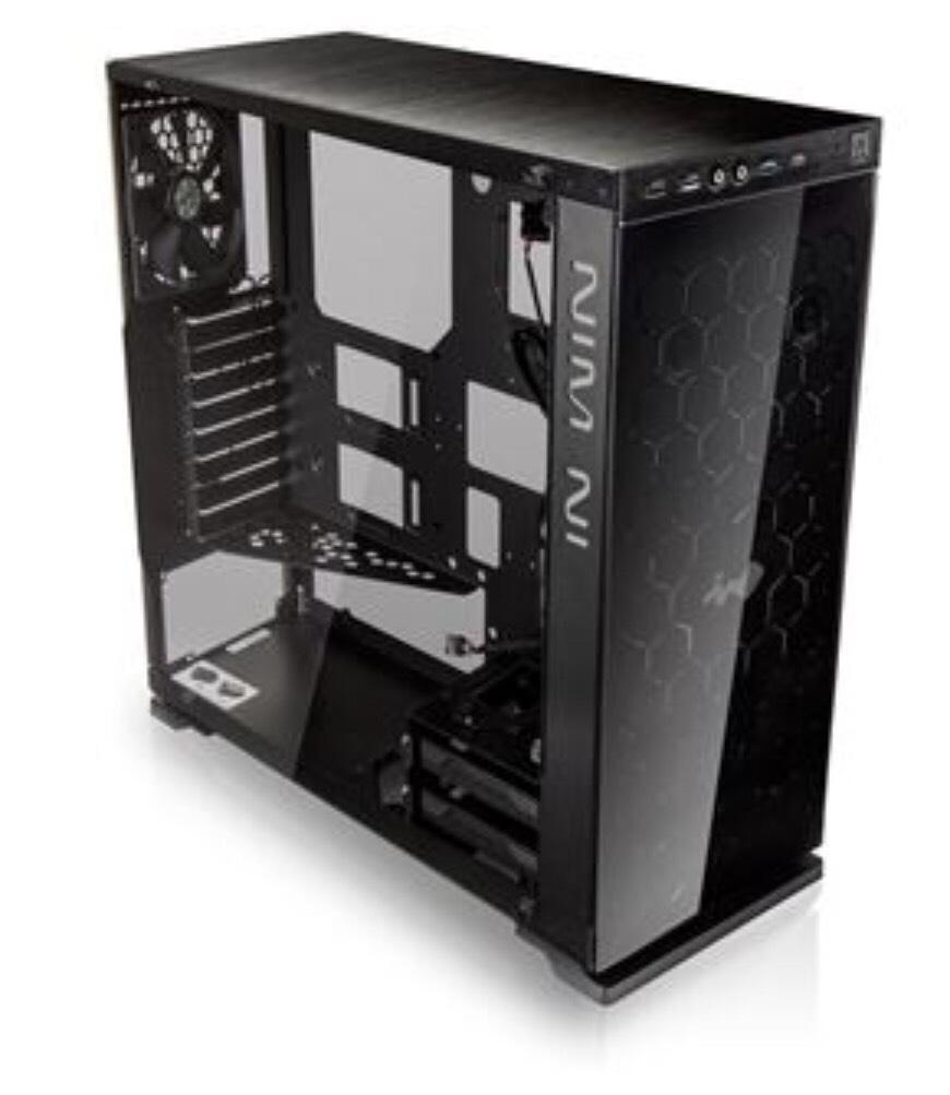 IN WIN 805 Design Midi Tower schwarz 97.89€ inkl. Versand Caseking
