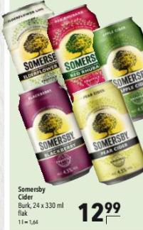 [Citti Märkte] Somersby Cider 24 Dosen pro Palette in verschiedenen Sorten