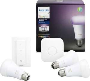 Philips Hue White and Color starter Kit E27