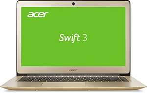Acer Swift 3 SF314-51-74X2 35,6 cm (14 Zoll Full HD IPS) Ultrabook (Intel Core i7-6500U, 8GB RAM, 512GB SSD, Intel HD, Win 10) gold