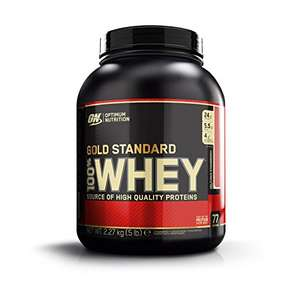 Optimum Nutrition Whey Gold Standard Protein, Delicious Strawberry, 2,27 kg
