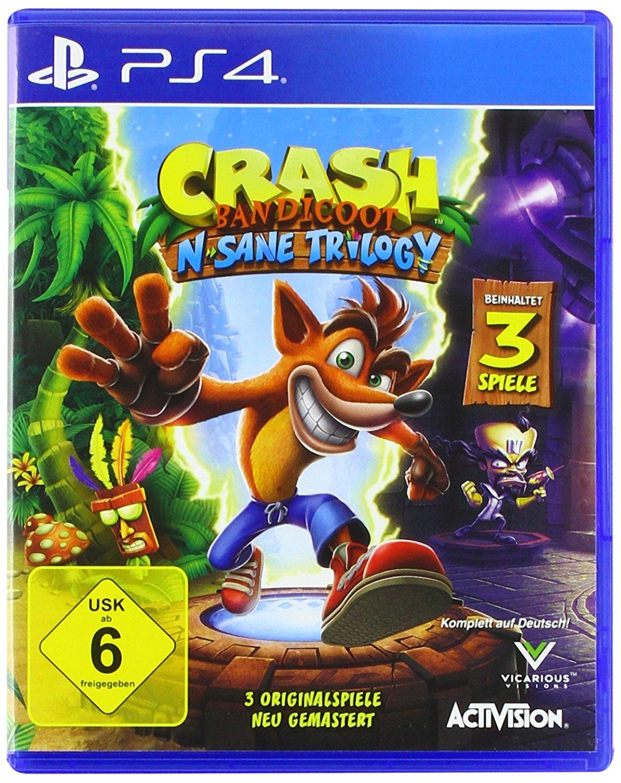 Crash Bandicoot: N. Sane Trilogy (PS4) für 23,99€ (Amazon + Müller)