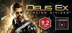 [Steam] Deus Ex: Mankind Divided 4,49€, Digital Deluxe Edition 8,23€, Collection: 10,60€