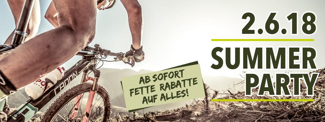 (LOKAL) Bonn MEGASTORE SUMMER PARTY - AB SOFORT FETTE RABATTE !