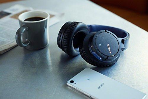 Sony MDR-ZX770BNB Bluetooth Kopfhörer mit Noise Cancelling für 75,43€ (Amazon.fr)