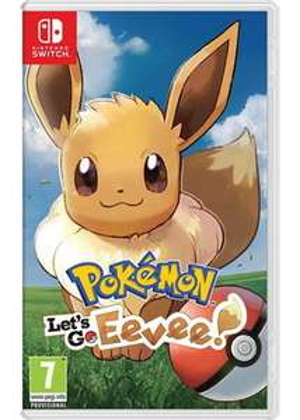 Pokemon Lets Go Eevee! / Pokemon Lets Go Pikachu! (Nintendo Switch)