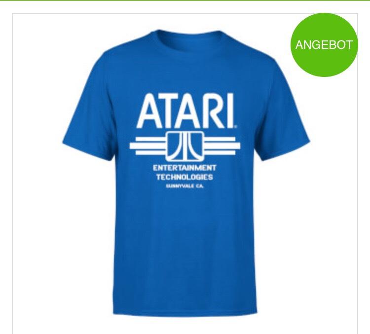 Atari, Geek T-Shirt, Zavvi, T-Shirt der Woche