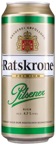 [EDEKA] Ratskrone Pils oder Radler 0,5 Liter Dose 0,14€(0,28€/Liter) (lokal Rhein - Ruhr?)