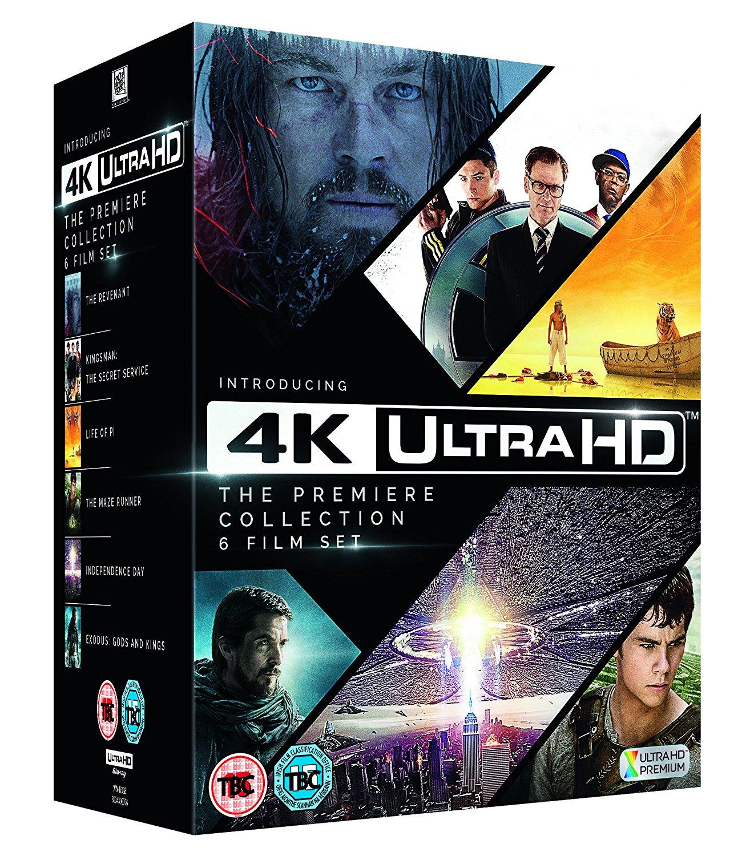 4K Ultra HD - The Premiere Collection (6x 4K Blu-ray Filme) für 47,29€ (eBay + Amazon.co.uk)