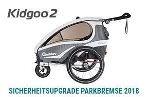 Kostenloses Sicherheitsupgrade für die Kinderwagen Qeridoo Kidgoo 1 und 2 (2018)