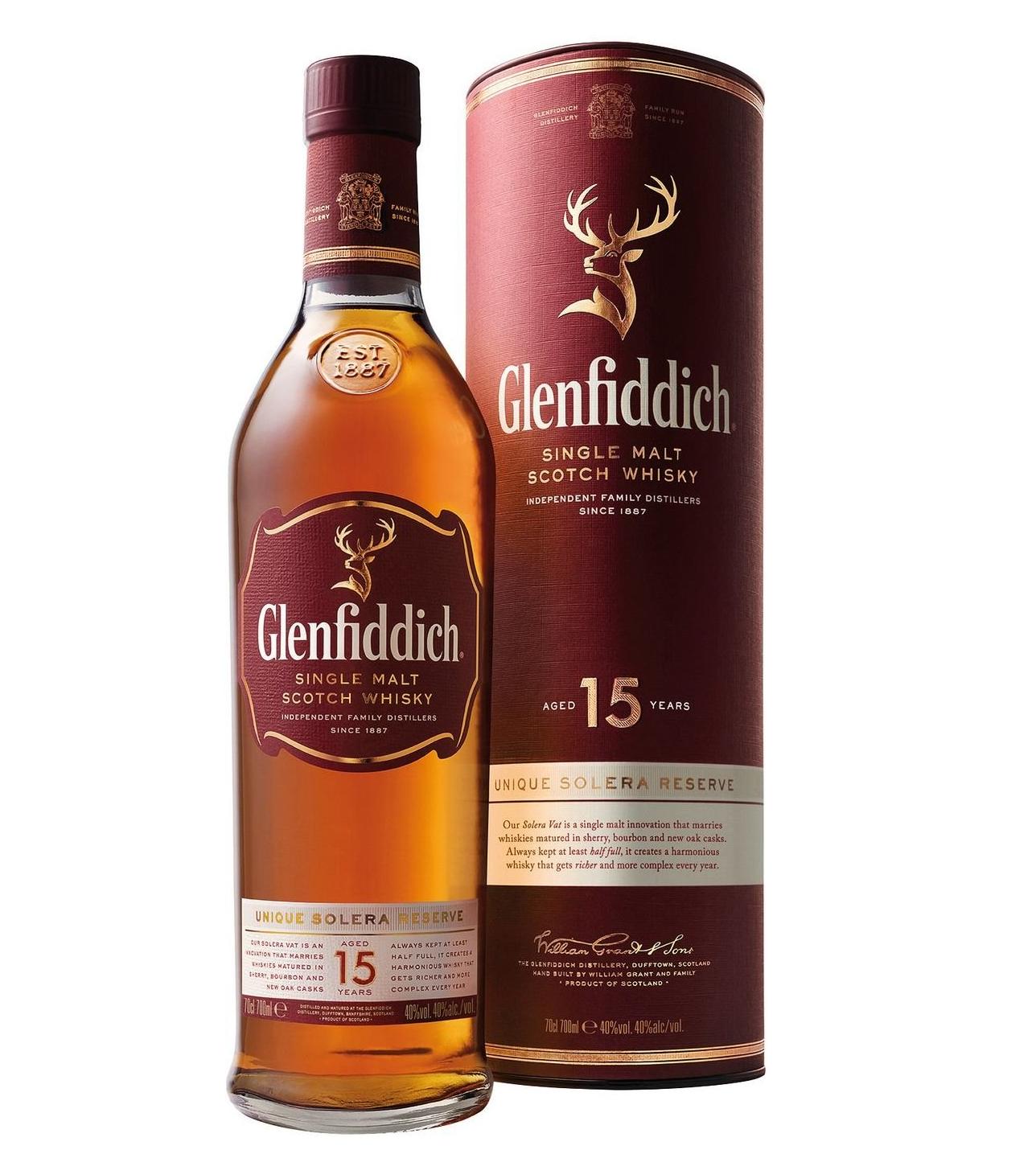Glenfiddich Solera VAT 15 Jahre