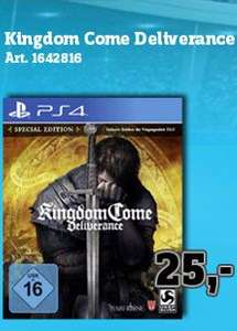 [Regional Conrad Mainz] Kingdom Come: Deliverance Special Edition (PS4) für 25,-€